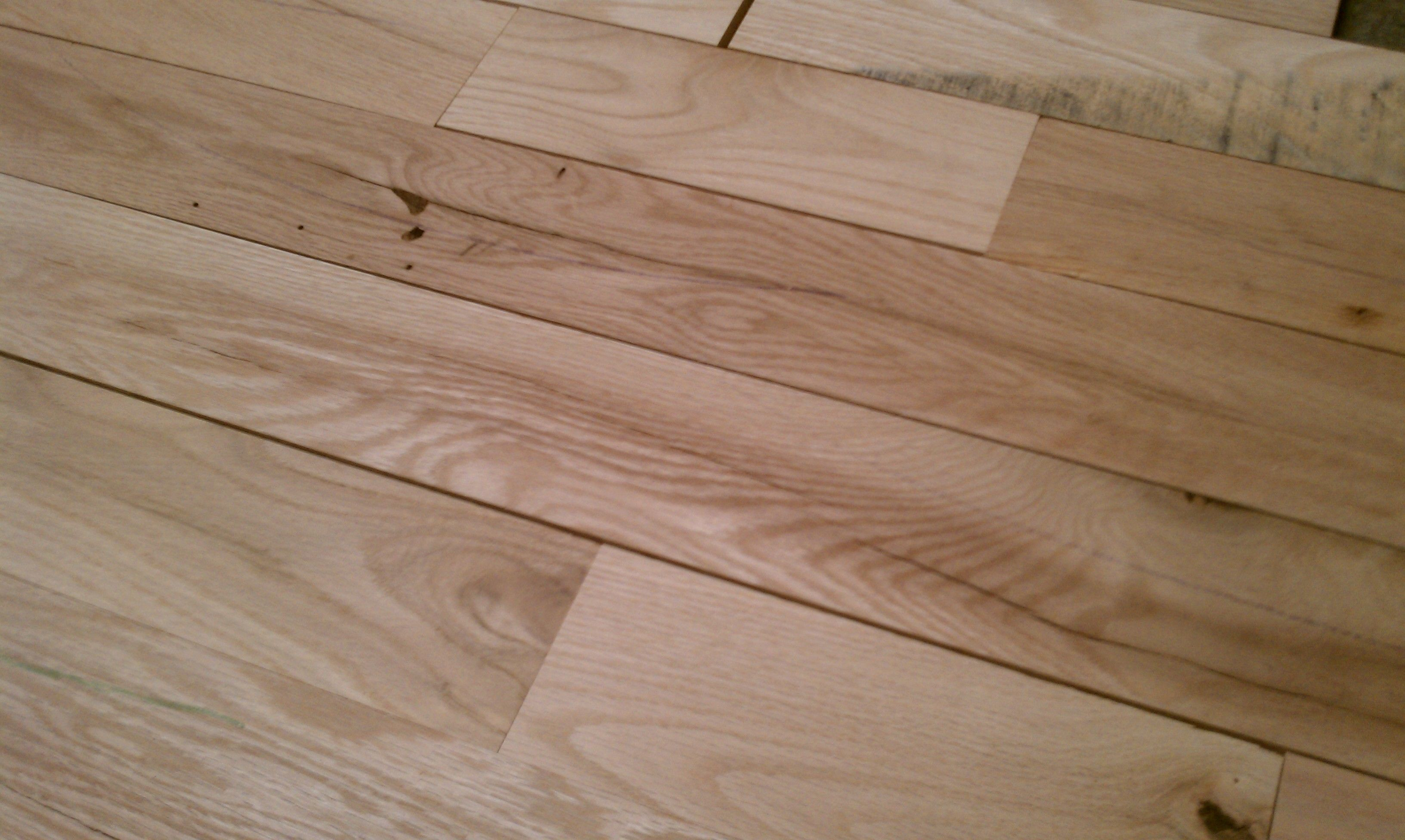 Stylish Unfinished Oak Flooring As Encouragement And