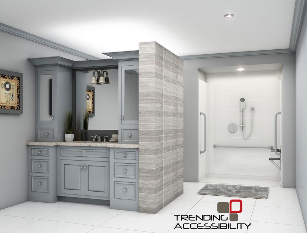 Accessible Shower Remodeling | Showers | Tile Shower | Kansas City ...