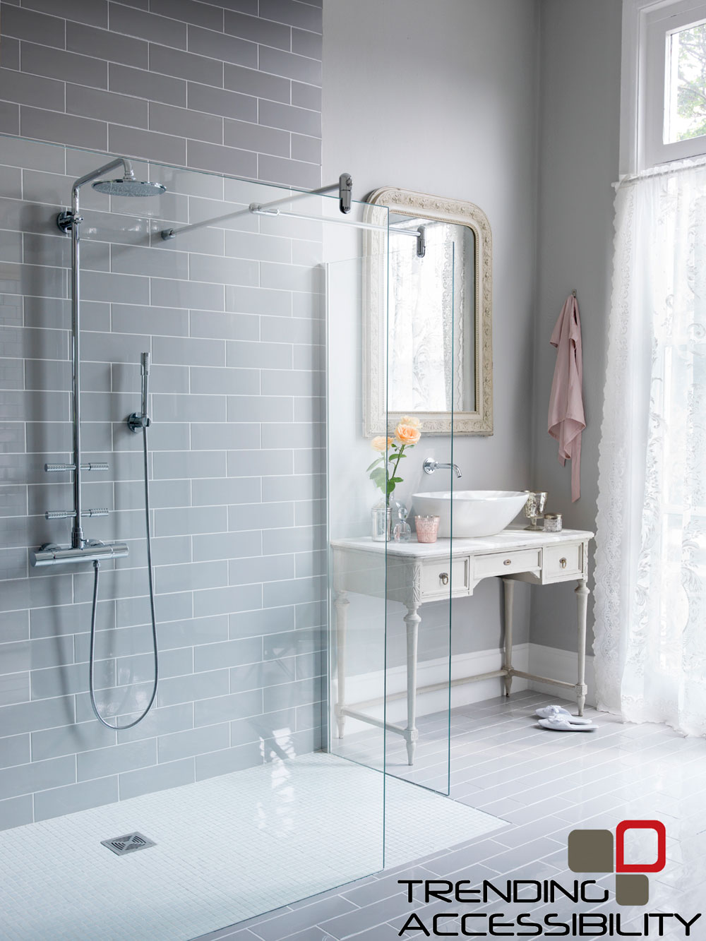 Accessible Shower Remodeling | Showers | Tile Shower ...